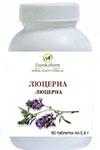Люцерна (Alfalfa) (Medicago sativa) (90 таблеток по 0,4г)