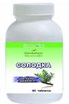 Солодка — солодке здоров'є (Glycyrrhiza glabra L.) (90 таблеток по 0,4г)